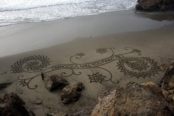 Lukisan Menakjubkan Di Atas Pasir Gdsgds