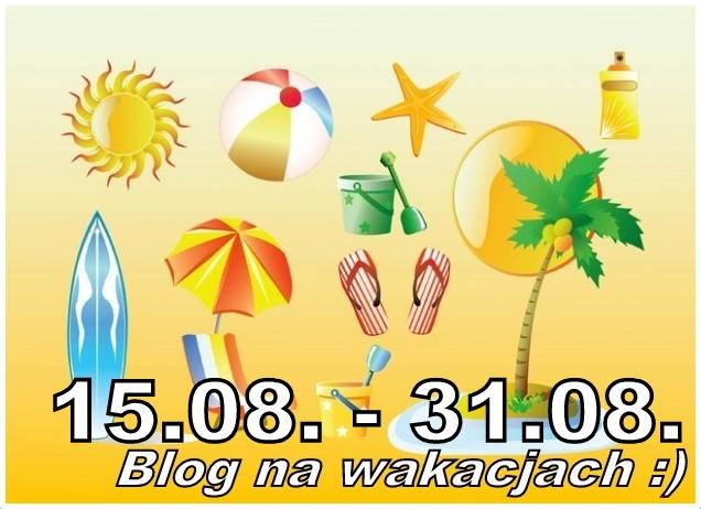 Blog na wakacjach