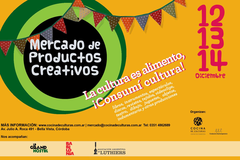 Participando del Mercado de Productos Creativos en Cocina de Culturas