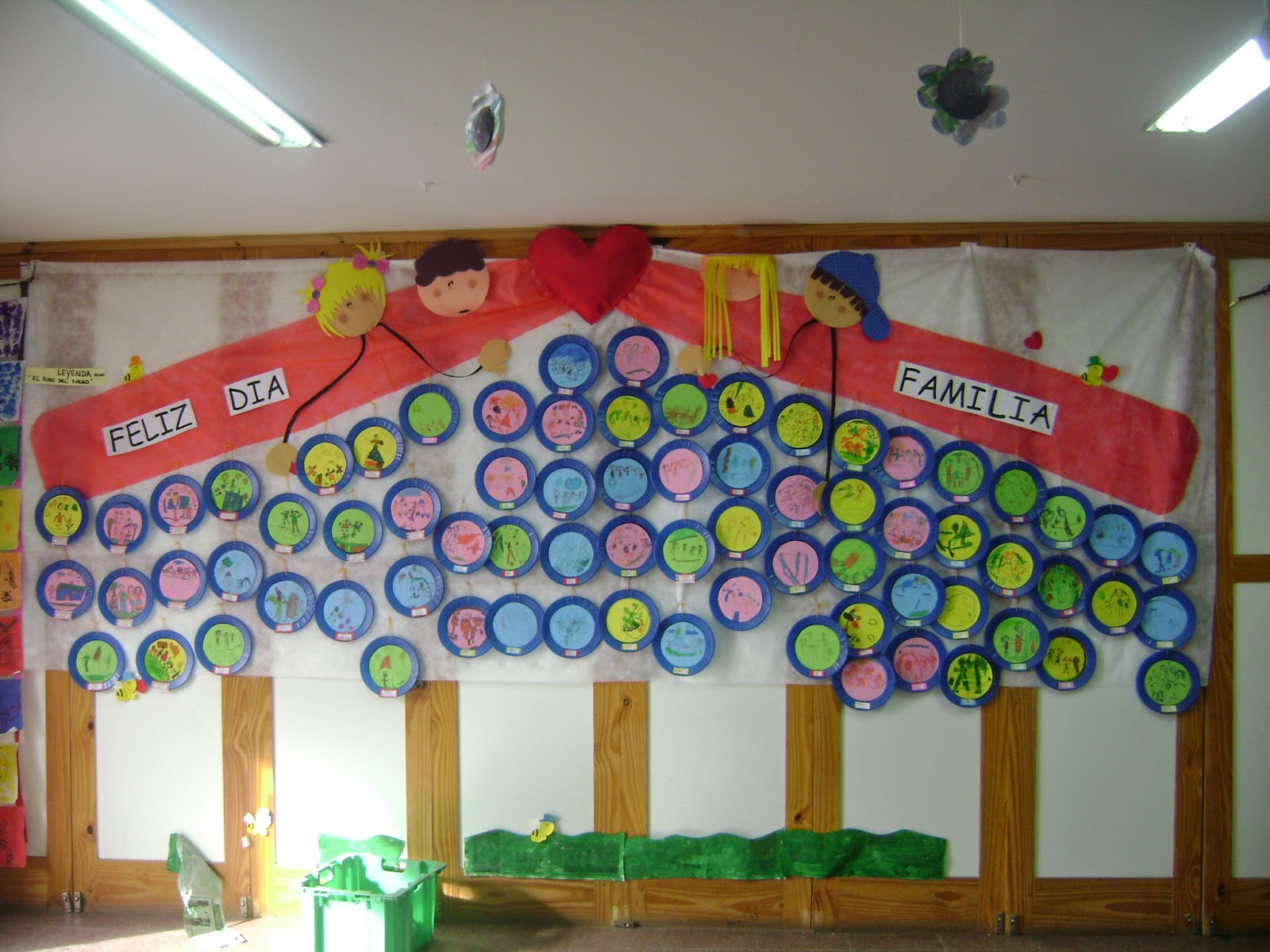 Educaci n inicial c rdoba regalos para el d a de la familia for Decoracion salas jardin de infantes