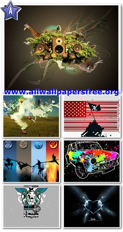 40 Abstract And Colorful Wallpapers 1280 X 1024 [Set 4]