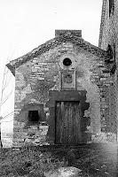 Capella de Sant Nazari de Vilalta. Autor: Josep Sansalvador (Arxiu Gavín, març 1968)