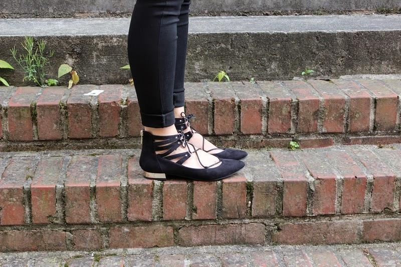 ballerines-lacets