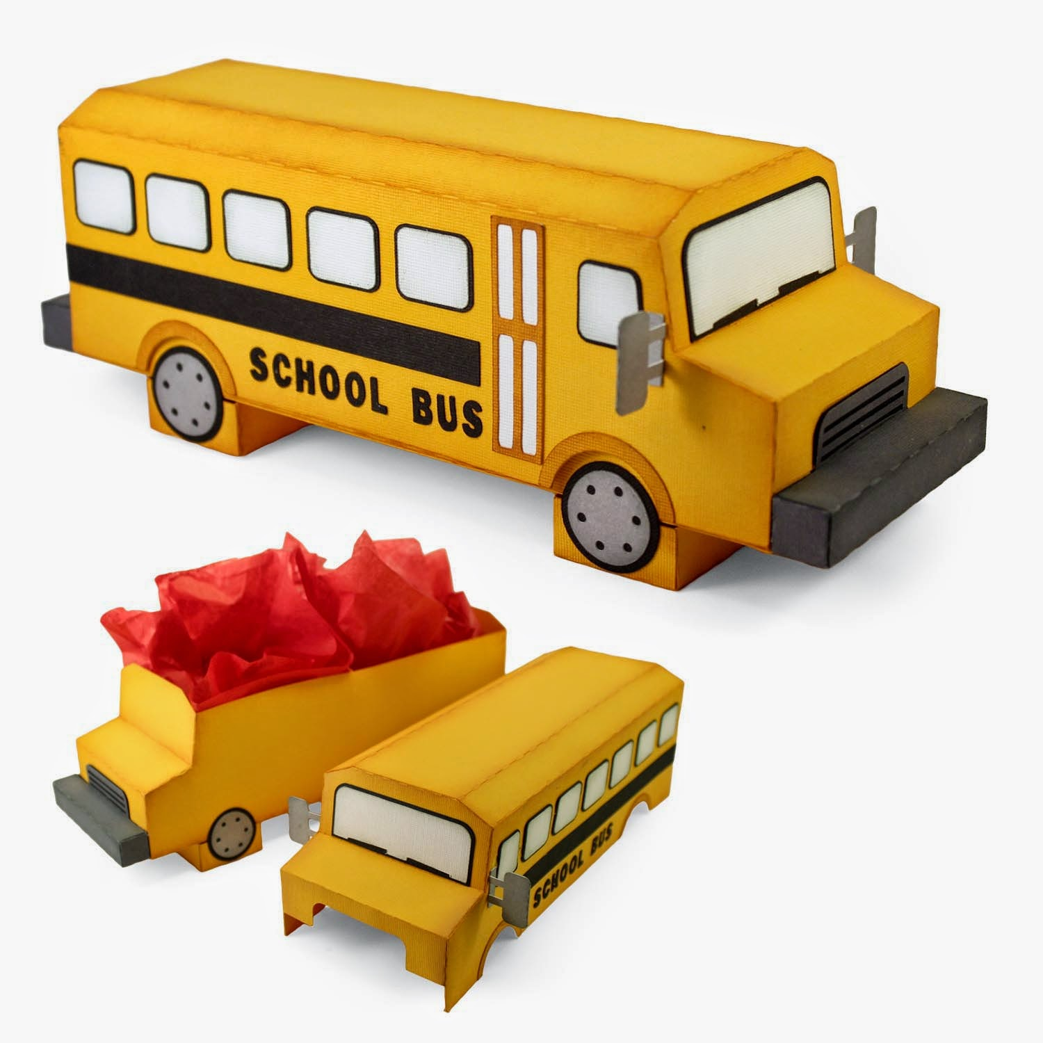 Roof of School Bus 3d School Bus Box Tutorial