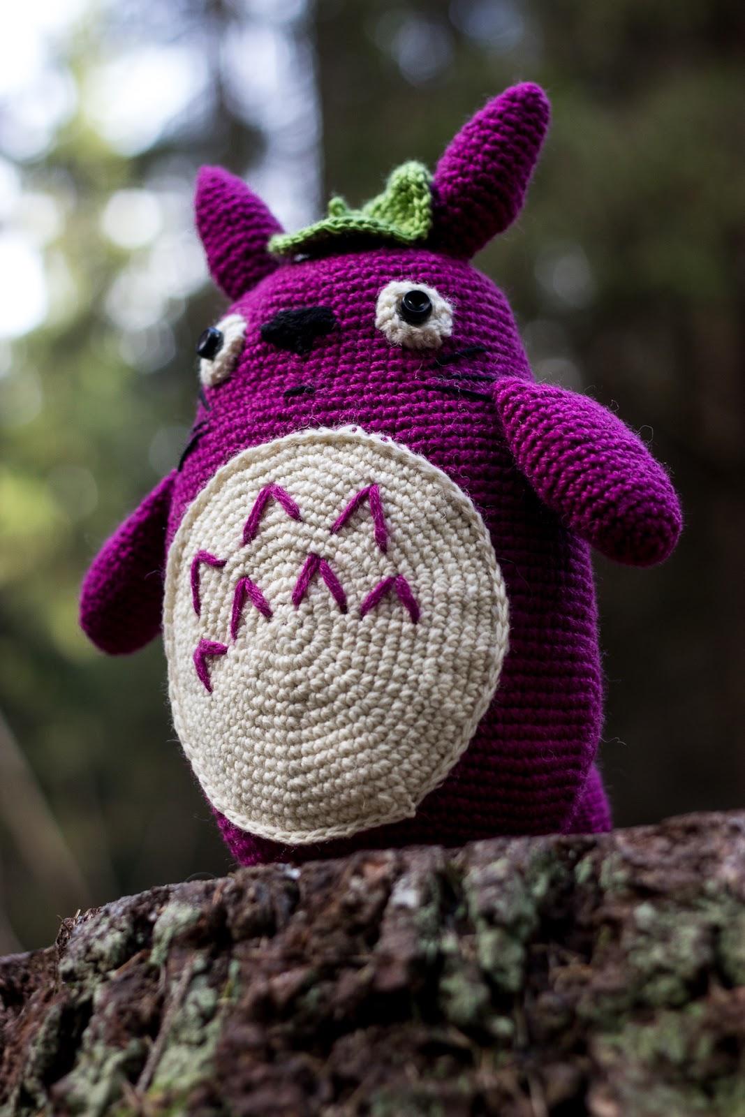 Amigurumi Totoro Ohje : khadin lankalabyrintti: Virkattu Totoro amigurumi