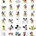 Mickey & Minnie Mouse - 101 embroidery designs