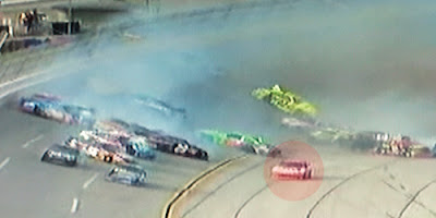 Greg Biffle avoids Tony Stewart Talladega wreck