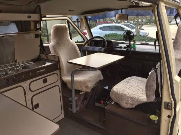 Used RVs 1984 Volkswagen Vanagon Westfalia Mini RV Camper ...