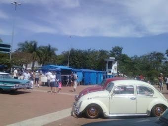 Feira de artesanato na Exposição de Carros Antigos