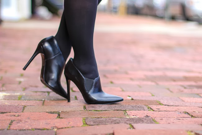 Nine West Black Bootie Style Shoes