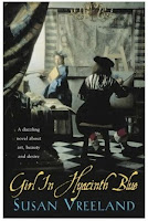 Book cover of Girl in Hyacinth Blue by Susan Vreeland