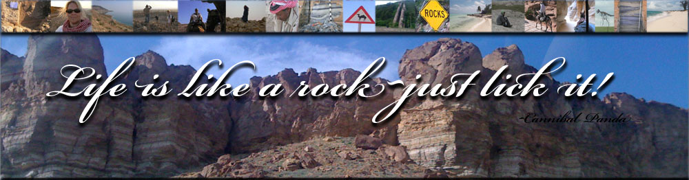 Life is like a rock...