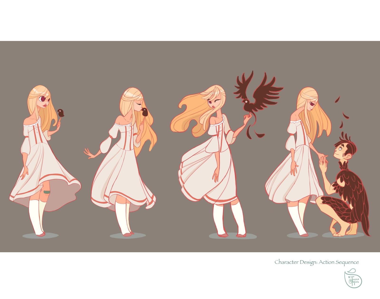 Character Design Quarterly Vk : Jessica madorran online portfolio