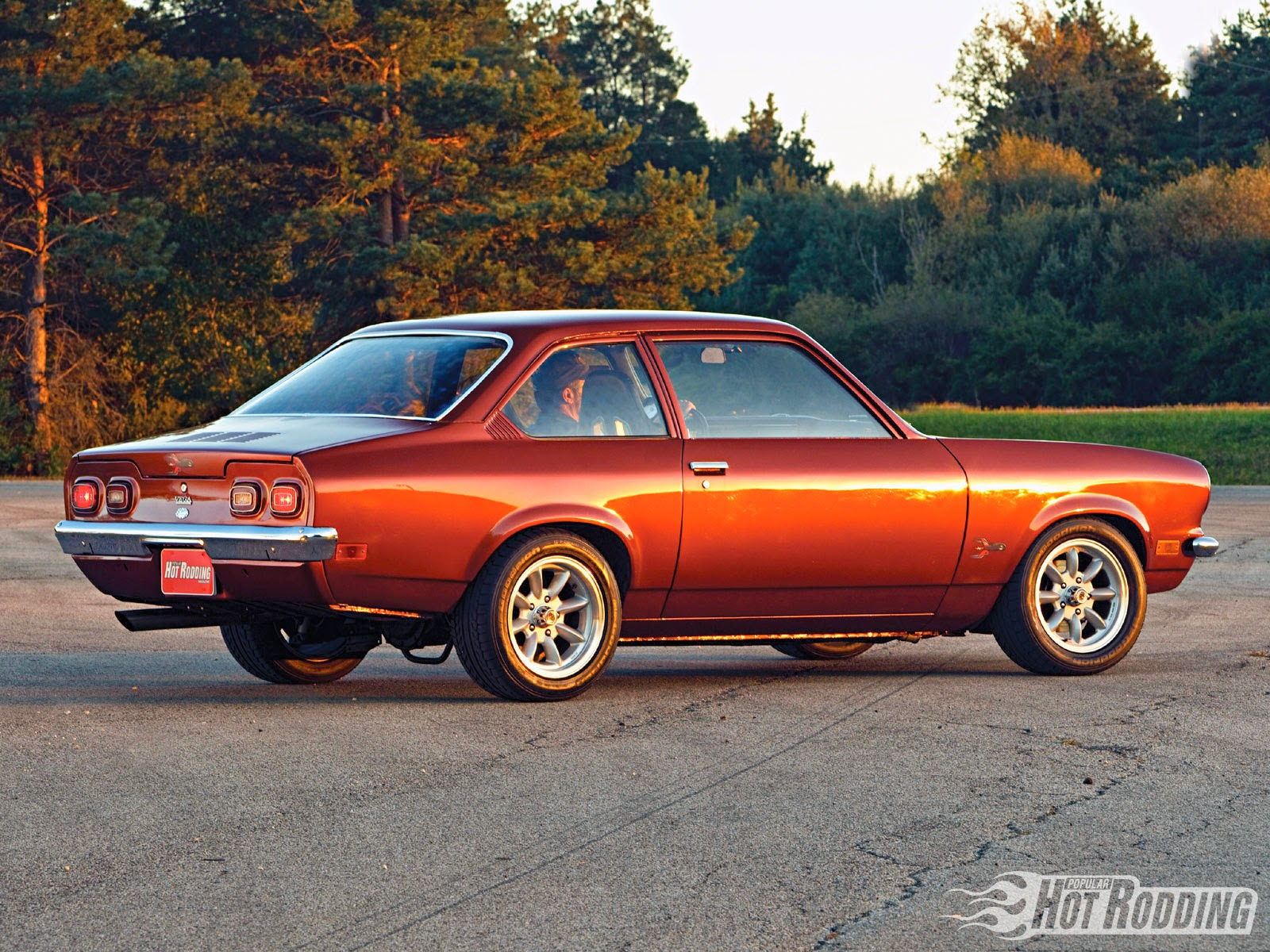 Daily Turismo: 10k: Needs More Minilites: 1975 Chevrolet Vega V8