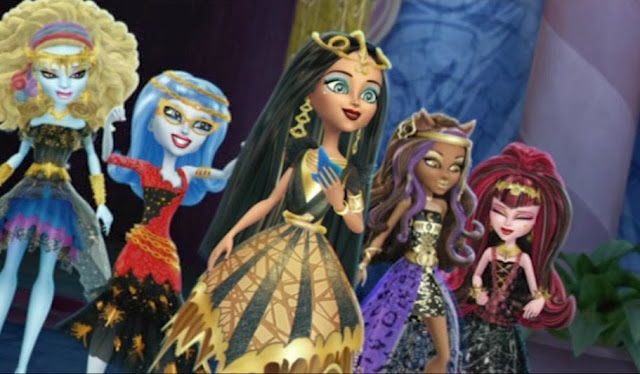 Monster High, 13 Wishes DVD, Children Animation