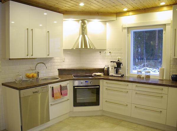 Tiili Talli Valkoinen keittiö maustettuna kiitos!