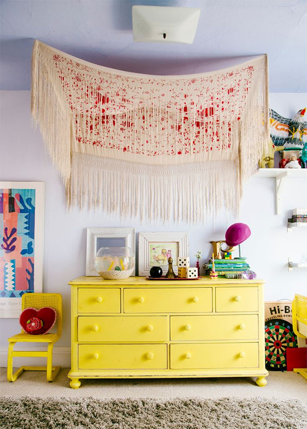 8 Ways to Hang A Tapestry at Home… A How-To – Interiors by Jacquin
