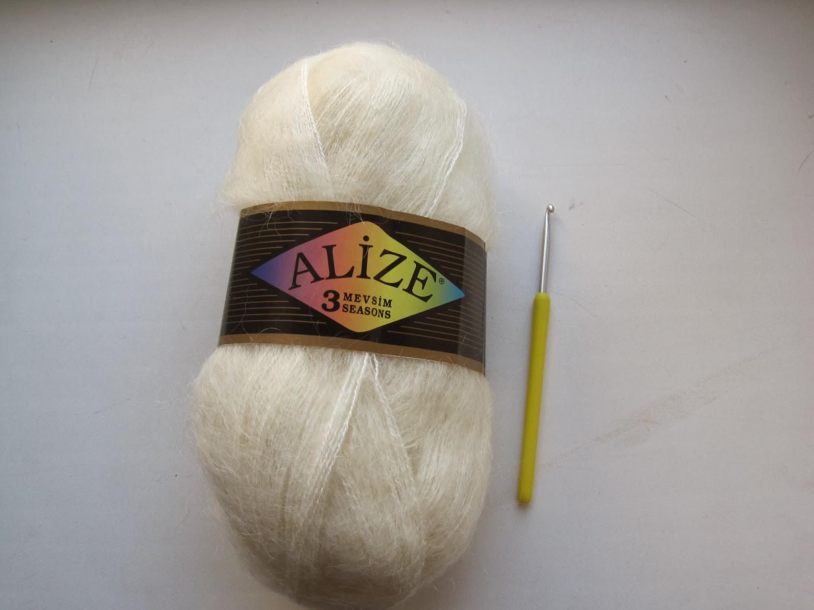 схема вязания шарфа волнорез