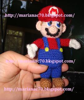 Mariana, Teje y Desteje con Amor: Mario Bros Amigurumi y ...