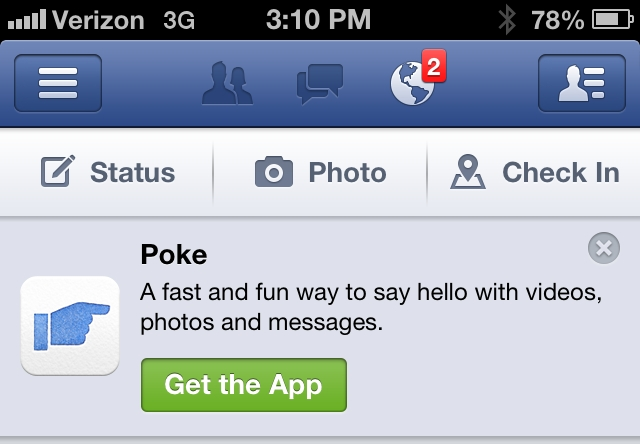 poke on facebook flirting If someone pokes you and you do/ don what does poking mean on facebook poking someone on facebook doesn't necessarily mean you are flirting.
