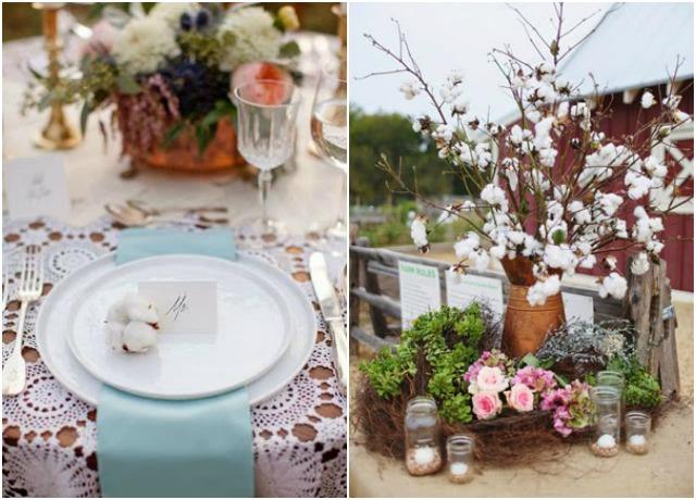 cotton wedding algodon bodas ideas flor bouquet planta 1