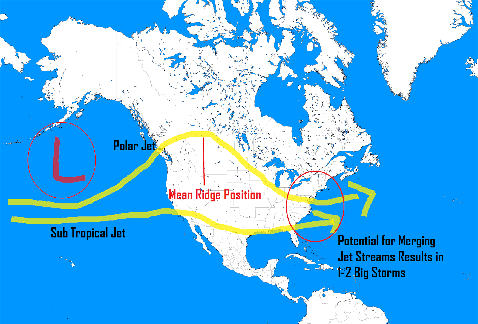 winter 2016 jet stream configuration