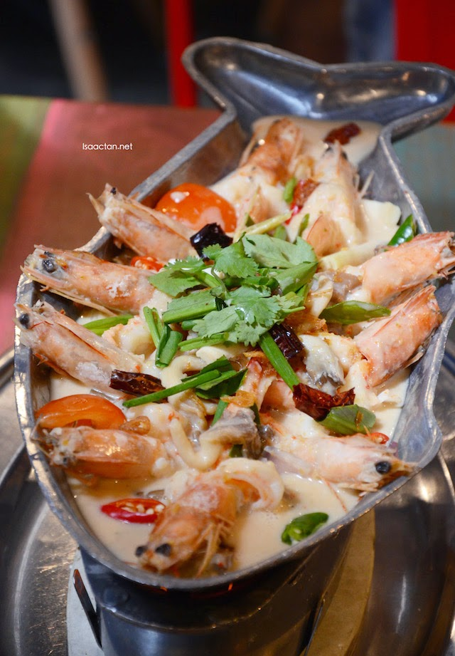 Coconut Milk Prawn on Hot Pan - RM37.90