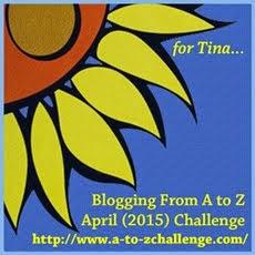 A-Z 2015 BLOG CHALLENGE