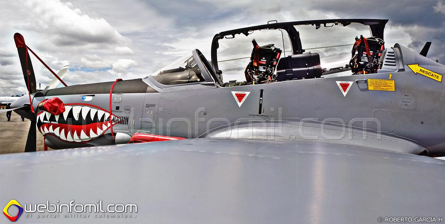 Fuerza Aerea Colombiana Super Tucano