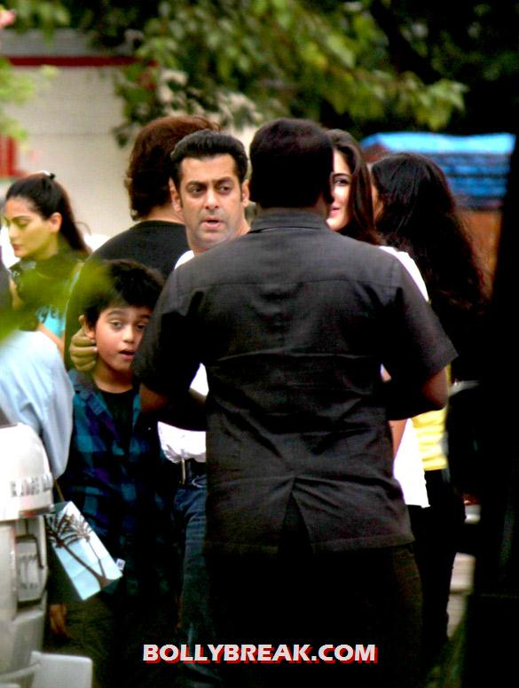 Salman Khan, Katrina Kaif - (15) - Special screening of 'Ek Tha Tiger' at Yashraj Studio