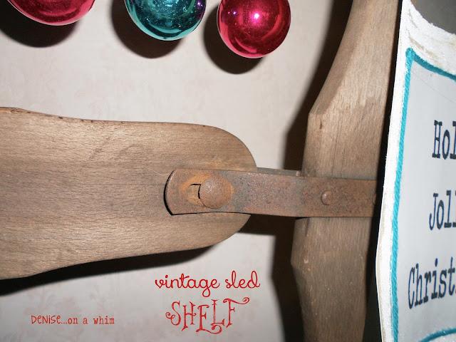 Using a sled to make a shelf via http://deniseonawhim.blogspot.com