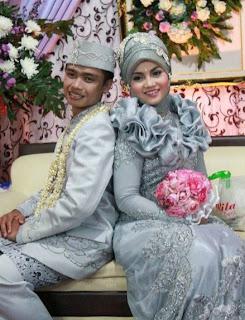 karangan bunga pengantin