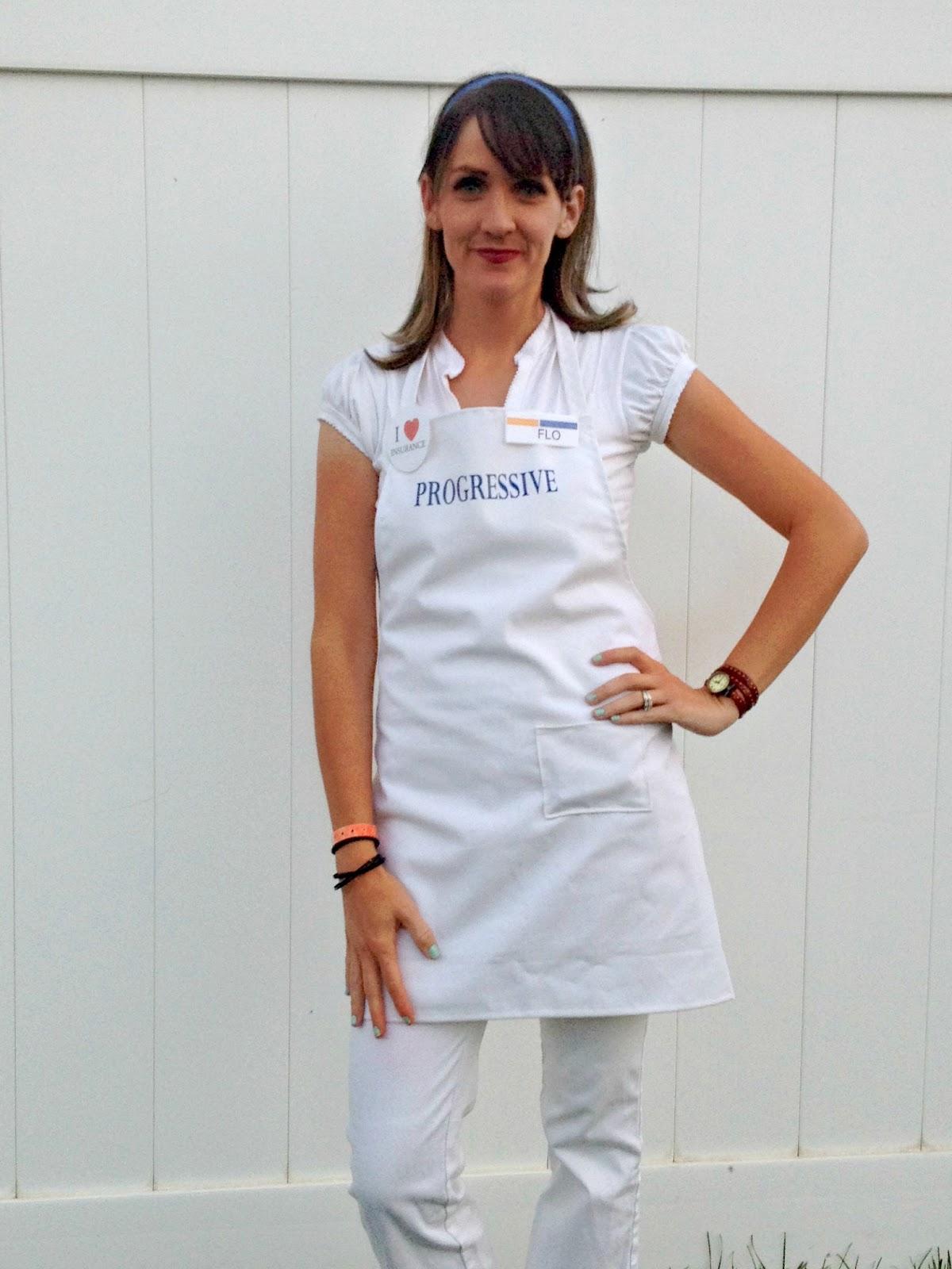 White apron progressive - Flo