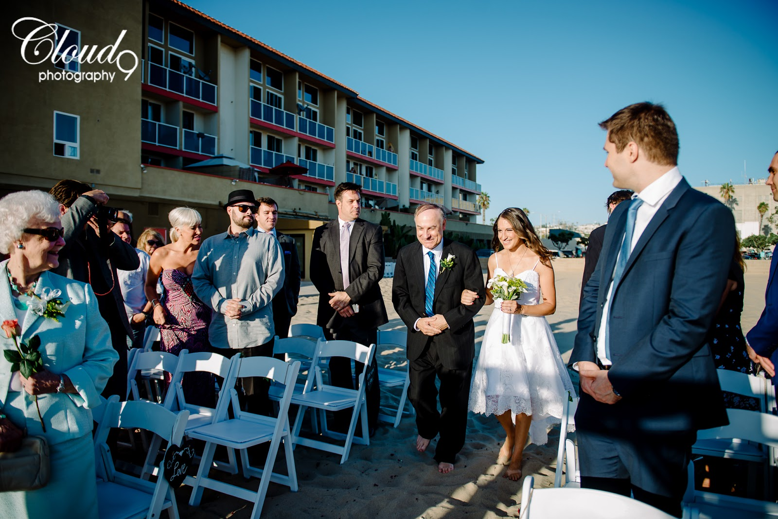 Christina + Don. Wedding Day at Charthouse, Redondo Beach. | Cloud ...