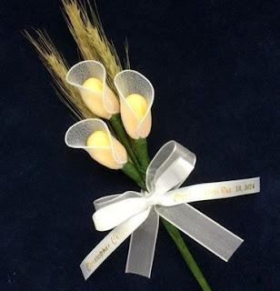 Recuerdos de Primera Comunión, Flores