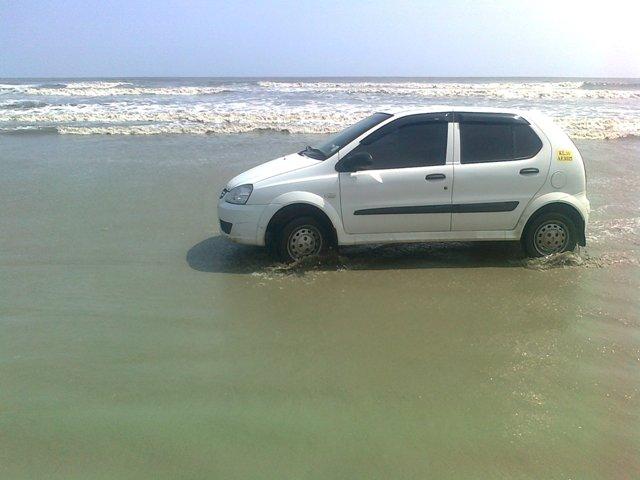 MUZHAPPILANGAD BEACH-Drive in beach