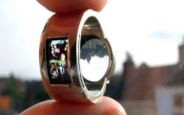 poto kecil di dalam cincin