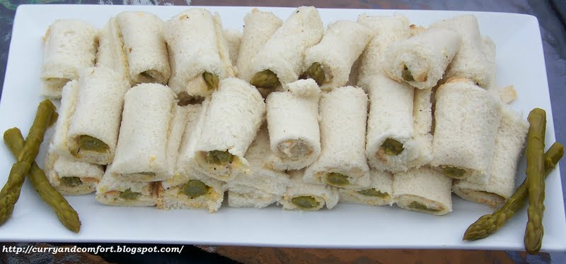 Here is the 4th sandwich in my Tea Sandwich Series: Asparagus Rolls. I ...