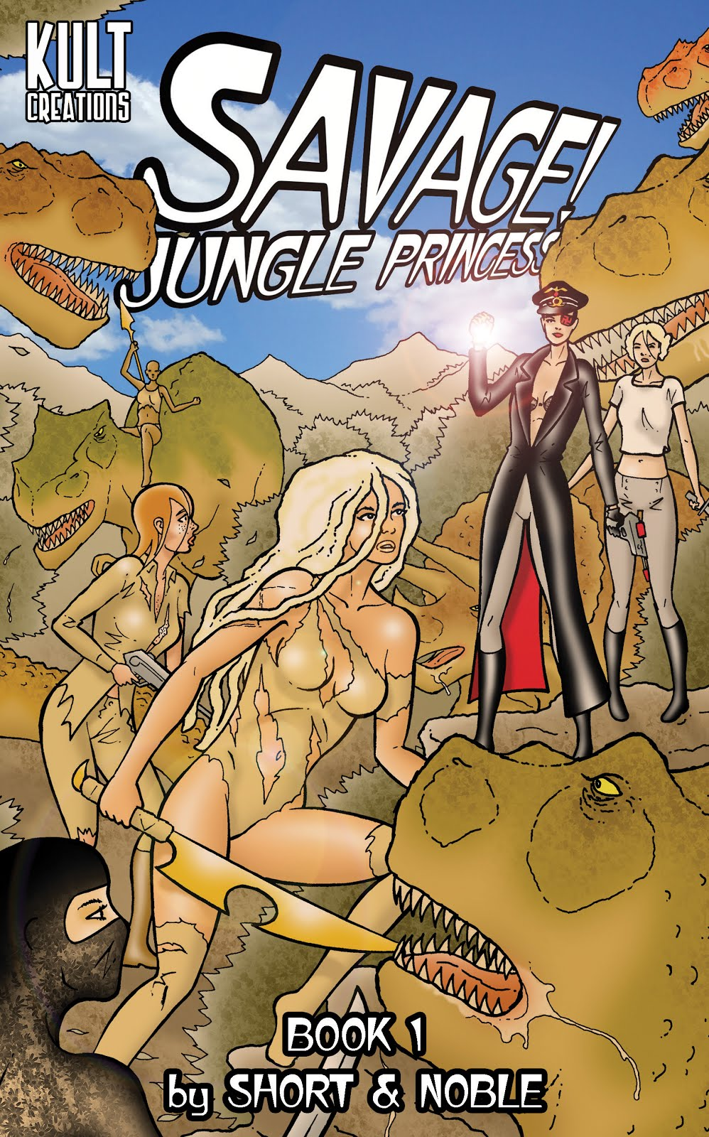 Buy 'Savage! Jungle Princess' Book 1 Digital Version BELOW!