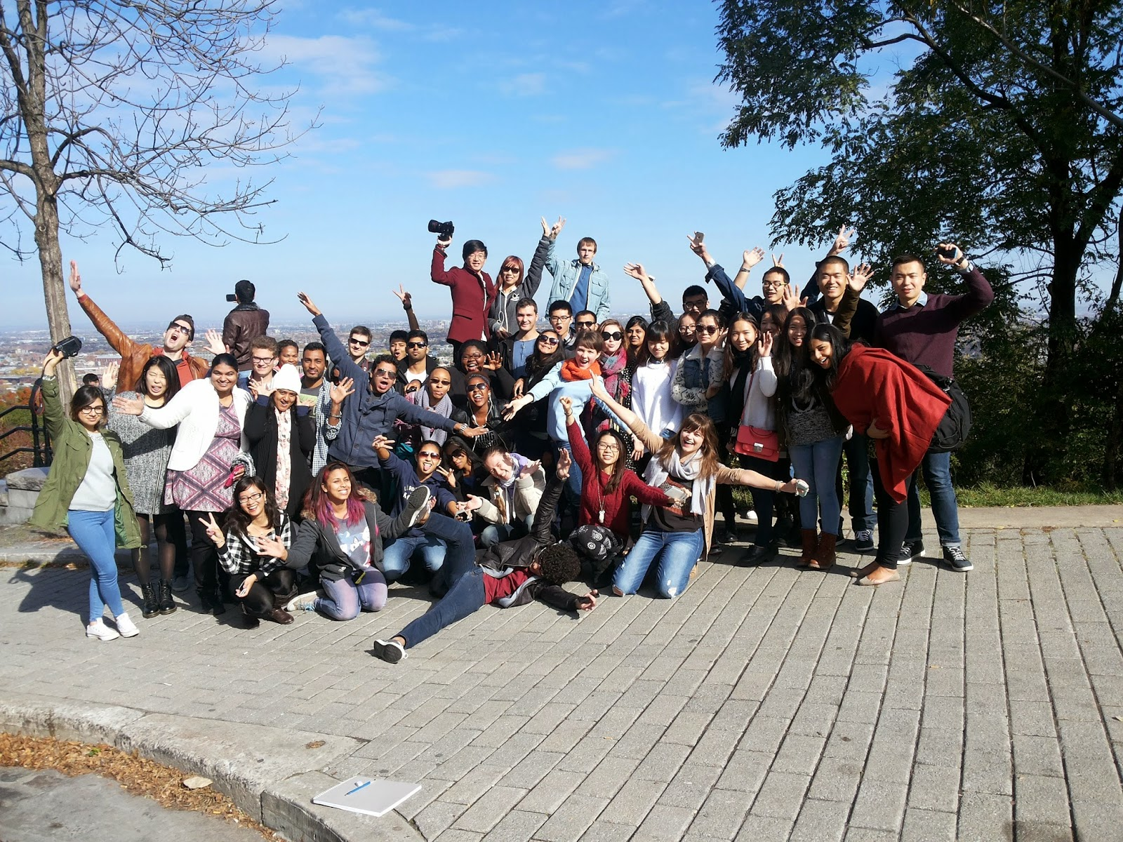 Trip with International Students