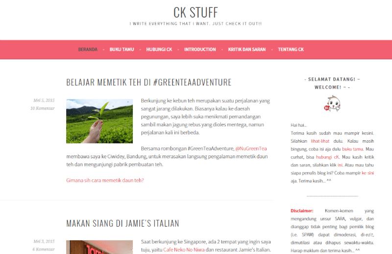 screenshot blog chikastuff