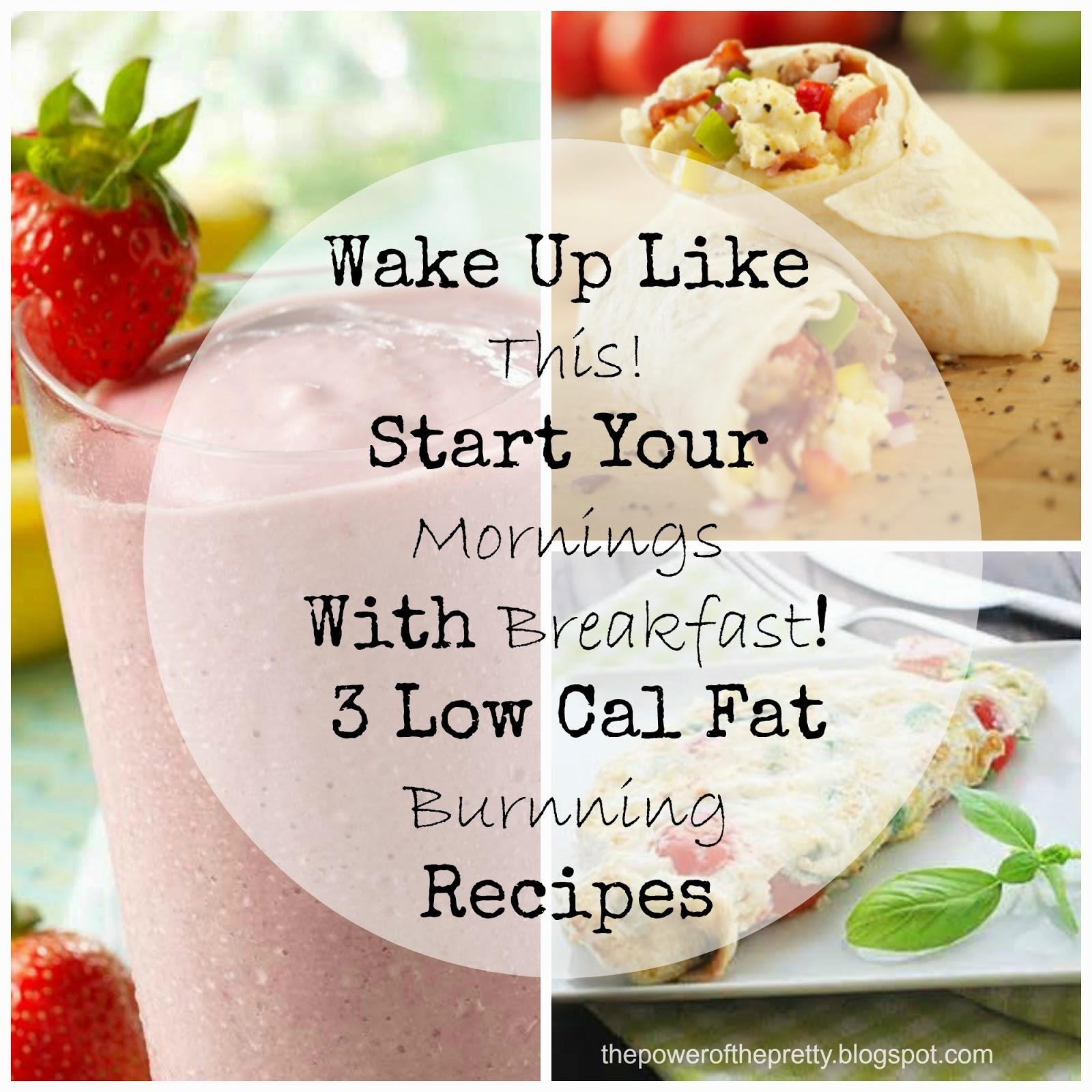 3 FAT BLASTING Breakfast Idea's Under 300 Calories