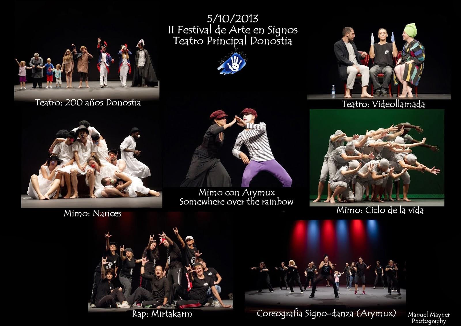 FOTO II FESTIAVL DE ARTE EN SIGNOS EXITO