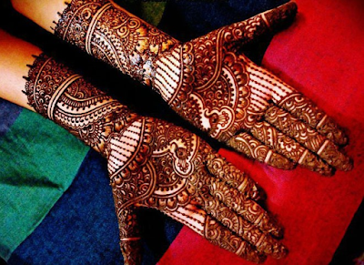 Arabic Mehndi Designs For Marriage