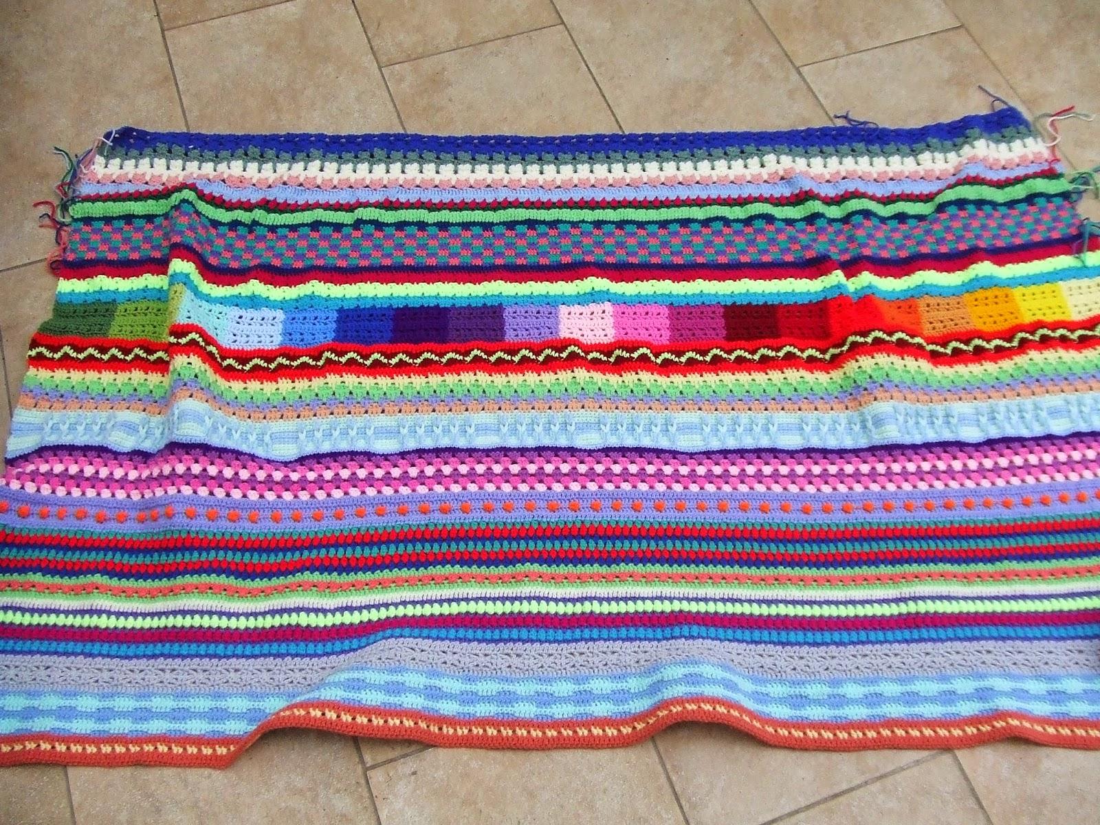 My World Of Crochet Diätdecke Woche 8 Teil 7