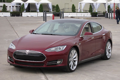 2012 Tesla Model S Beta