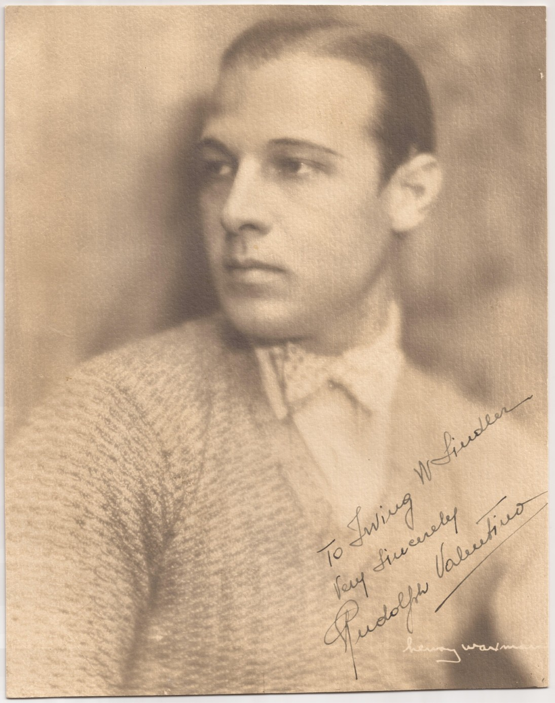 personal and professional life of rudolph valentino