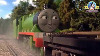Sodor Steam train Henry the tank engine was so happy his steel spoke wheel axles tingled with joy