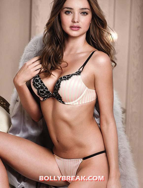 Miranda Kerr for Victoria's Secret - Miranda Kerr Latest Victoria's Secret lingerie Hot Pics
