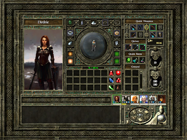 Icewind Dale 2 - Ranger Inventory Description